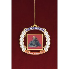 Jack Buck Commemorative Ornament
